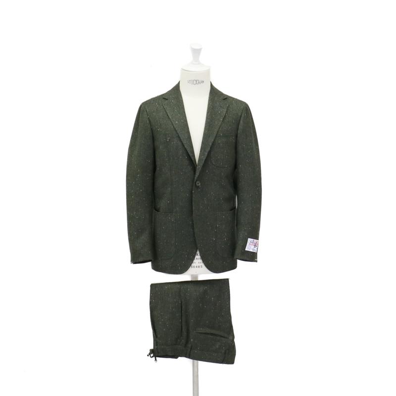 RING JACKET リングヂャケットModel No-284G S-183BALLOON HOMESPANスーツ【グリーン】