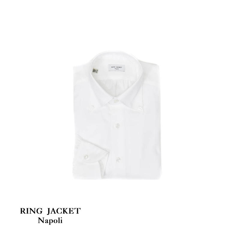 RING JACKET Napoli Oxford Shirts button-down collar