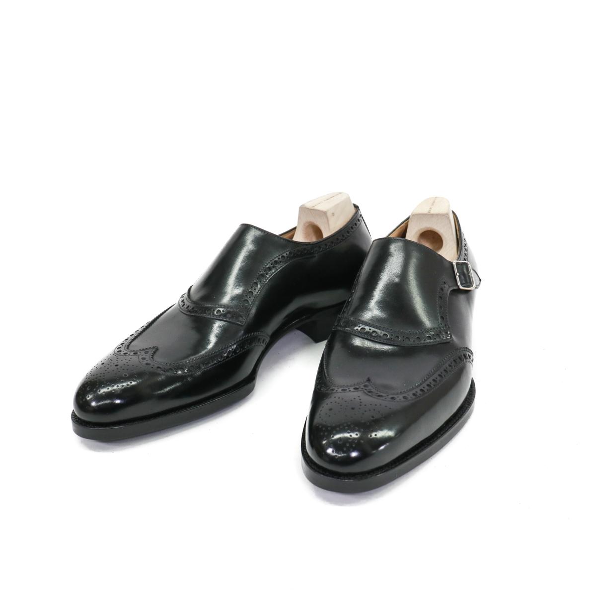 Saint Crispin`sサンクリスピンSingle Monk Shoesシングルモンクシューズ