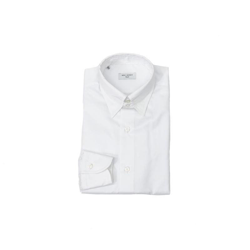 RING JACKET Napoli【リングヂャケット ナポリ】Shirts【シャツ】タブカラー【ソリッド / ホワイト】