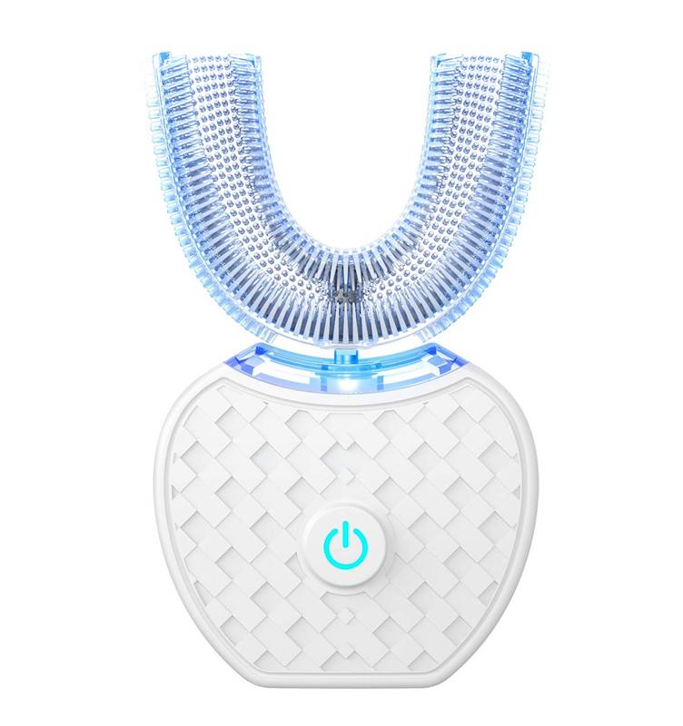 電動歯ブラシ 四代目 360°U型 音波振動歯ブラシ 定価 ワイヤレス充電? 怠け者歯ブラシ 卸売り IPX7防水