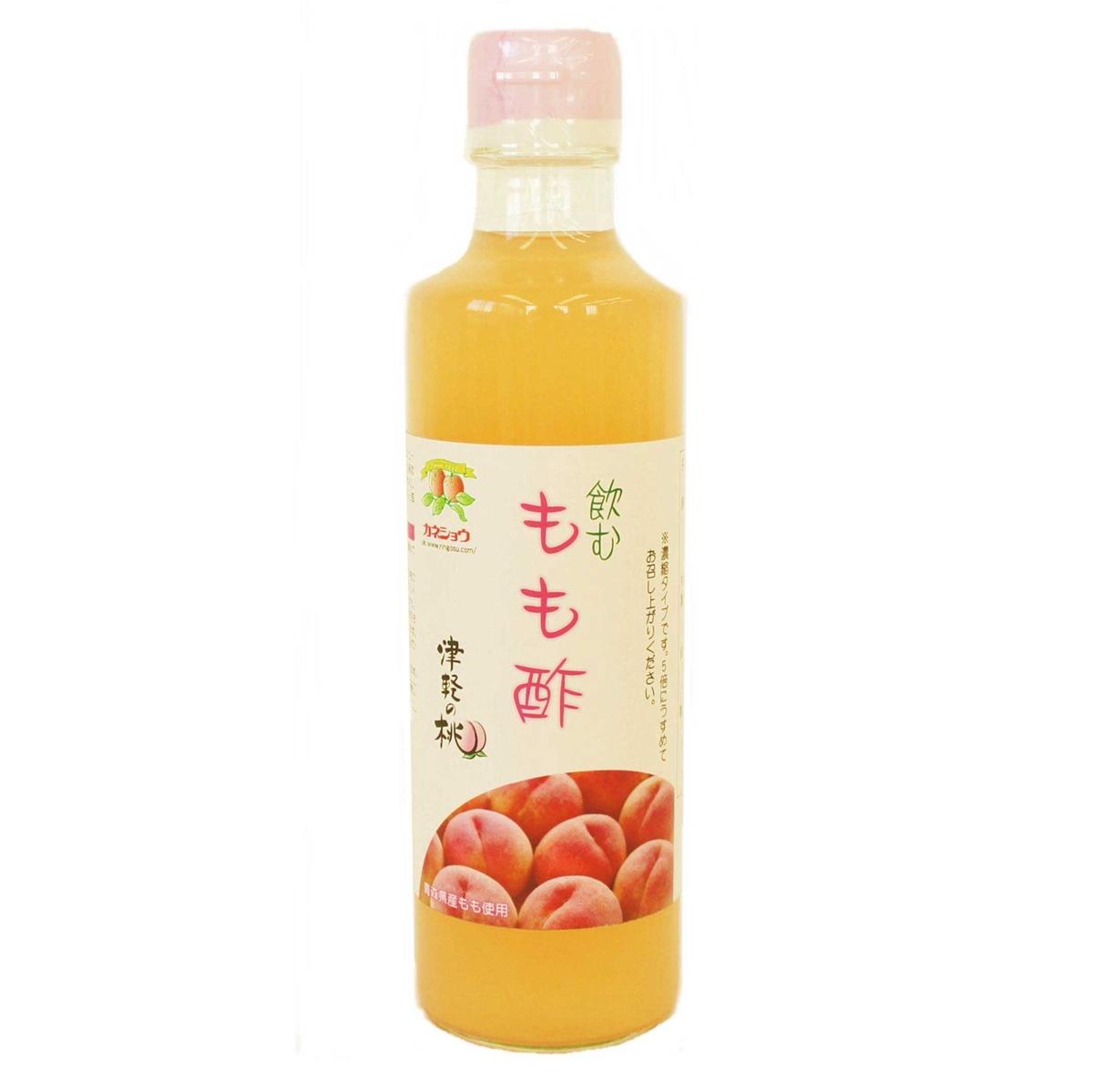 桃のフルーティな香りと風味豊かな果実酢です フルーツビネガーもも酢 発売モデル ランキングTOP10 275ml 飲むもも酢