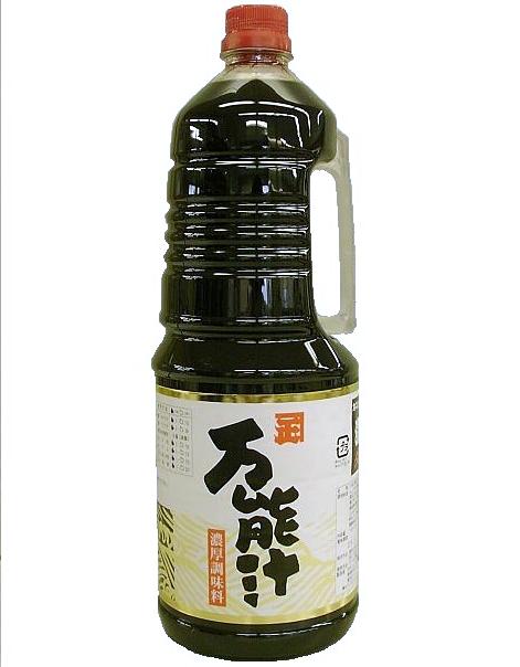 セール商品 天つゆにも簡単 希望者のみラッピング無料 どんな和食にも幅広く カネショウの 万能汁 1.8L