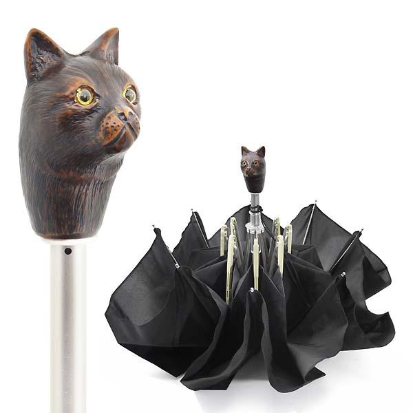 Guy de Jean PARIS キャット フォールディング アンブレラ 猫 折畳傘