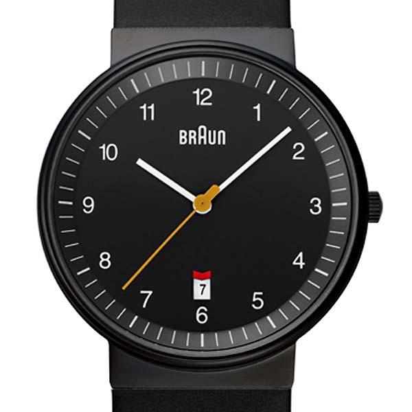 BRAUN 【ブラウン】BN0032BK メンズ ウォッチ レザーベルト 腕時計