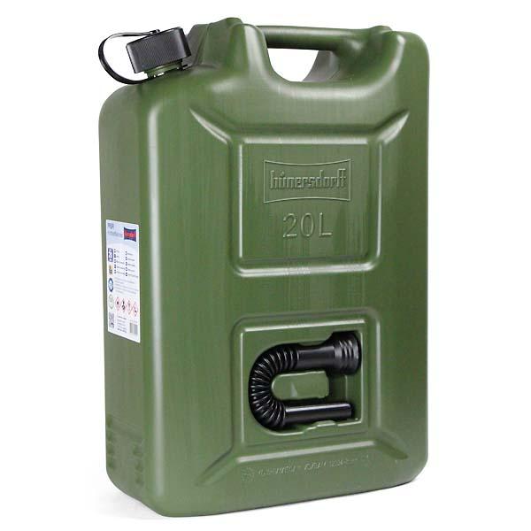 Hunersdorff 【ヒューナースドルフ】 20リットル ポリ タンク Fuel Can Pro