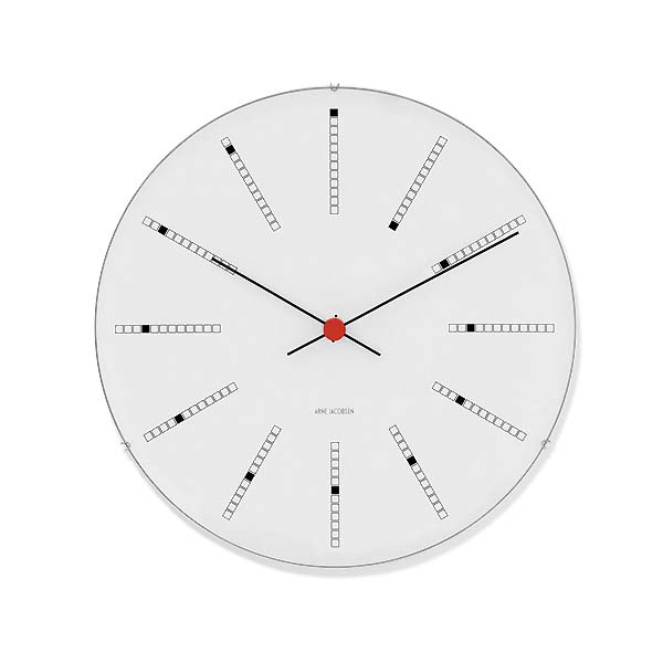 Arne Jacobsen【アルネ ヤコブセン】バンカーズ ウォールクロック 160mm
