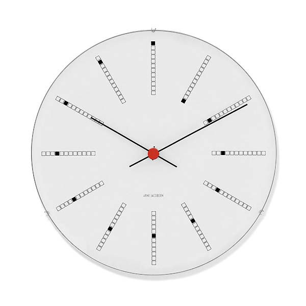 Arne Jacobsen【アルネ ヤコブセン】バンカーズ ウォールクロック 290mm