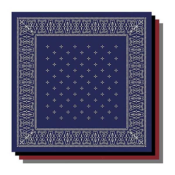 バンダナ ラグマット 2m×2m 正方形サイズLL