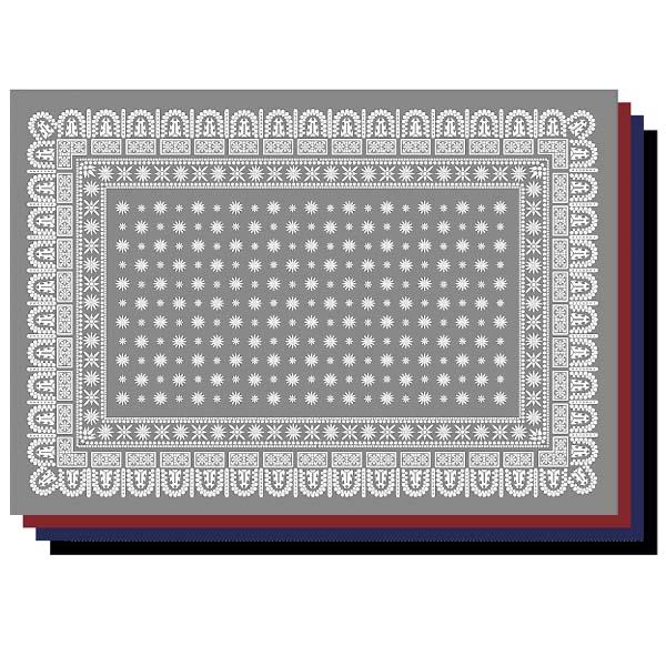 バンダナ ラグマット 2m×1.4m 長方形サイズL