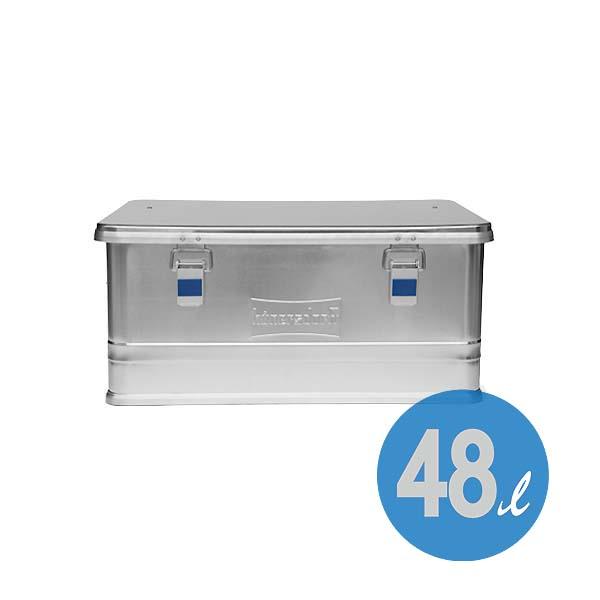 Hunersdorff アルミニウム プロフィー ボックス 48L ストック コンテナー