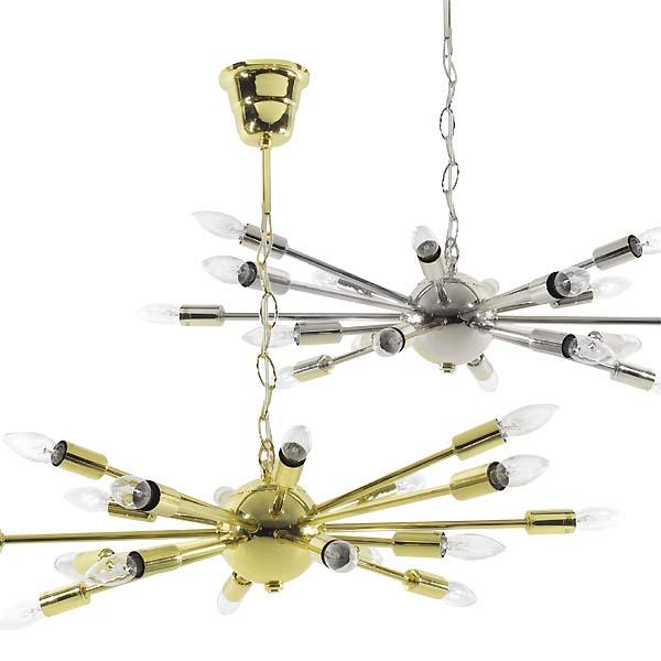 スプートニクランプ Sputnik Lamp 18灯