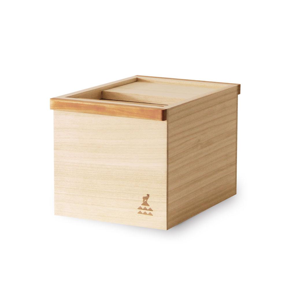 かもしか道具店 桐のお米びつ 5キロ【製造元出荷】