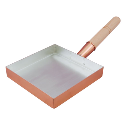 銅玉子焼関東型 21cm【製造元出荷】