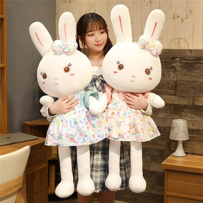 クッション 日本全国 送料無料 抱き枕 ぬいぐるみ お祝い ギフト おもちゃ 結婚式 誕生日ギフト かわいい プレゼント ご褒美 うさぎ 飾り 130cm ふわふわ