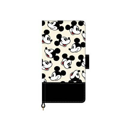 1 600円以上のお買い物で送料無料 スマートフォン多機種対応ケース ディズニーキャラクター 使い勝手の良い レトロスタンダード DN-455A M+ ハイクオリティ マルチフリップカバー ミッキーマウス