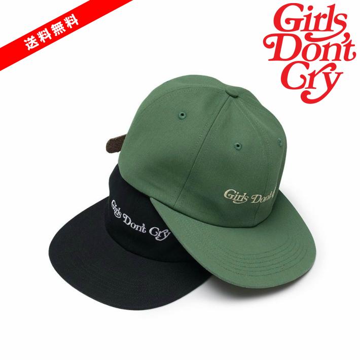 新入荷【公式 正規品】【size:FREE】Girls Don`t Cry Girls Dont Cry 6 Panel Cap キャップ ガールズドントクライ girls don't cry ガルドン GDC VERDY 正規品 【中古】 【新古品 未使用品】