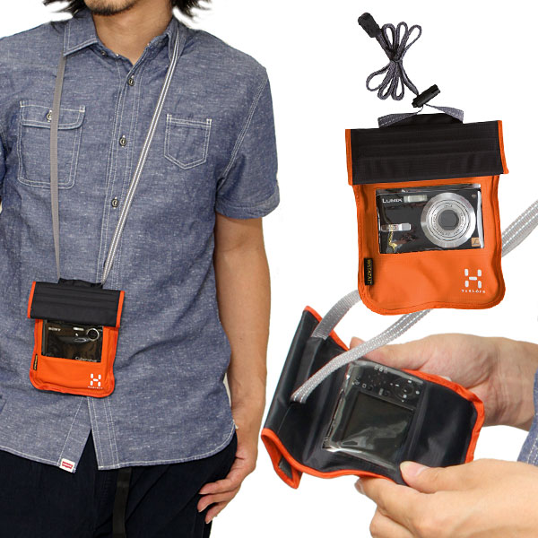 @ HAGLOFS WATATAIT 相机袋 [普通话/木炭] 猪行防水相机采购中性 (男人和女人结合) _ 11106E(ripe)