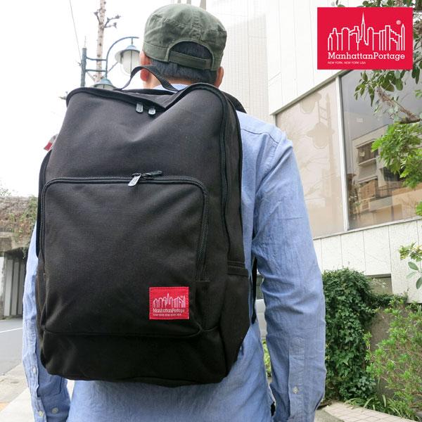 \最大500円OFFクーポン配布中/Manhattan Portage Union Square Backpack[ブラック]マンハッタンポーテージ ユニオンスクエアバックパック【鞄】_11303E(ripe)【送料無料】