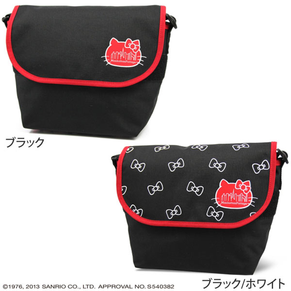 @ Manhattan Portage×Hello Kitty Casual Messenger Bag(MP1605JR)[全2色]manhattampotejiharokitimessenjabaggu(ripe)