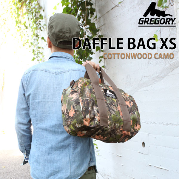 GREGORY DUFFLE XS [Bangla] Gregory Duffle Bag Unisex (men and women combined) _ 11405E(ripe)