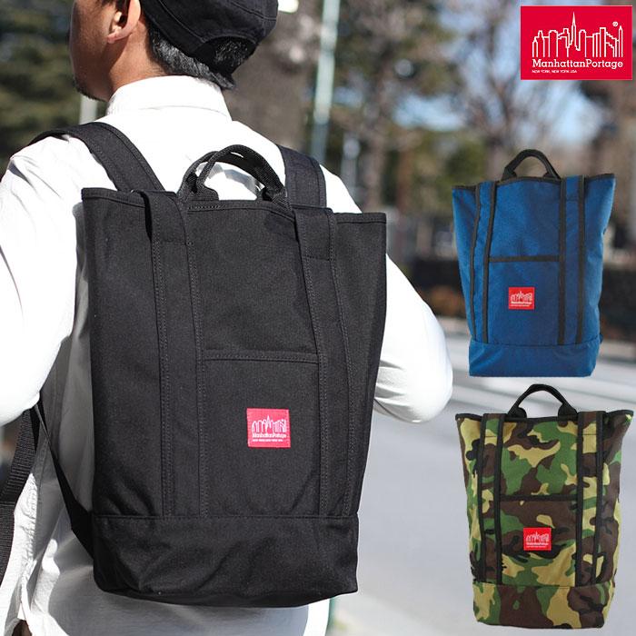 \Springフェア★レビューを書いてハンカチを貰おう/Manhattan Portage Riverside Backpack[全4色]マンハッタンポーテージ リバーサイド バックパックメンズ レディース【鞄】_11502F(ripe)