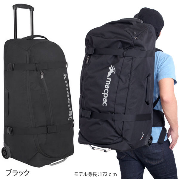 ◆ 2015 spring summer ◆ macpac GLOBAL 80 (L) [Black] (MM81500) global Mac Pack carry bag Unisex (men and women combined) _ 11506E(ripe)P25Jun15