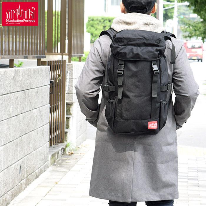 【正規取扱店】マンハッタンポーテージ Manhattan Portage デコ バックパック[ブラック](MP2112)Deco Backpack メンズ レディース【鞄】 bpk 1902ripe