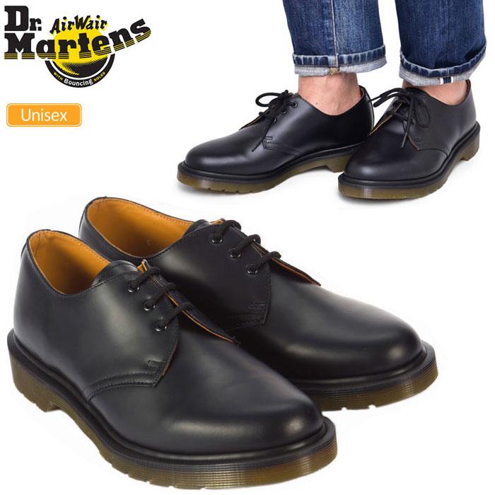 【正規取扱店】ドクターマーチン 3ホールシューズ 1461 ポストマンシューズ[ブラック](10078001)Dr.Martens CORE 1461 PW 3 EYELET SHOE メンズ レディース【靴】 1808ripe