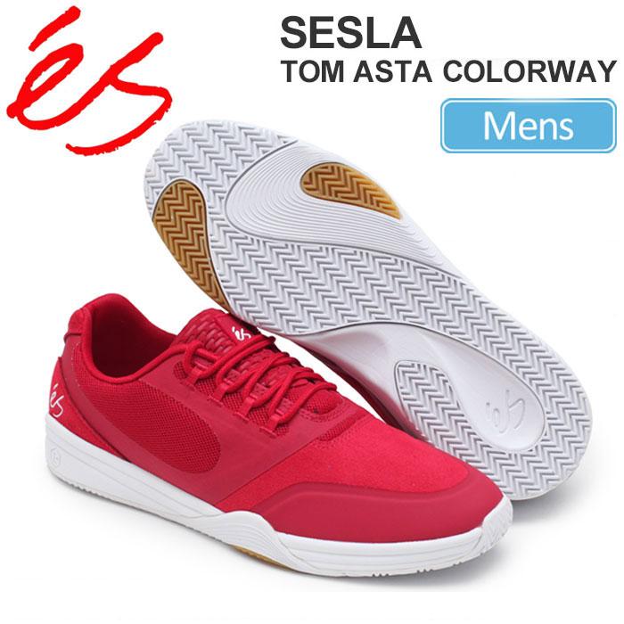 【正規取扱店】SALE 30%OFFエス 'es セスラ (トム・アスタ カラー)[レッド]SESLA (TOM ASTA COLORWAY)メンズ(男性用)【靴】 snk 1610ripe【返品交換・ラッピング不可】