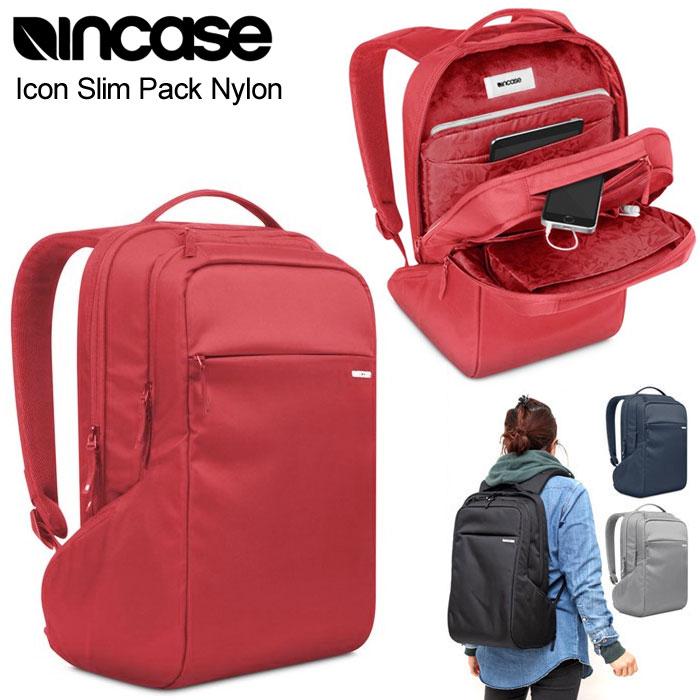 【正規取扱店】インケース Incase アイコンスリムパック ナイロン バックパック[全4色](旧仕様)ICON SLIM PACK NYLON メンズ レディース【鞄】 1611ripe bzbg※こちらは掲載画像と同じ旧仕様の商品です