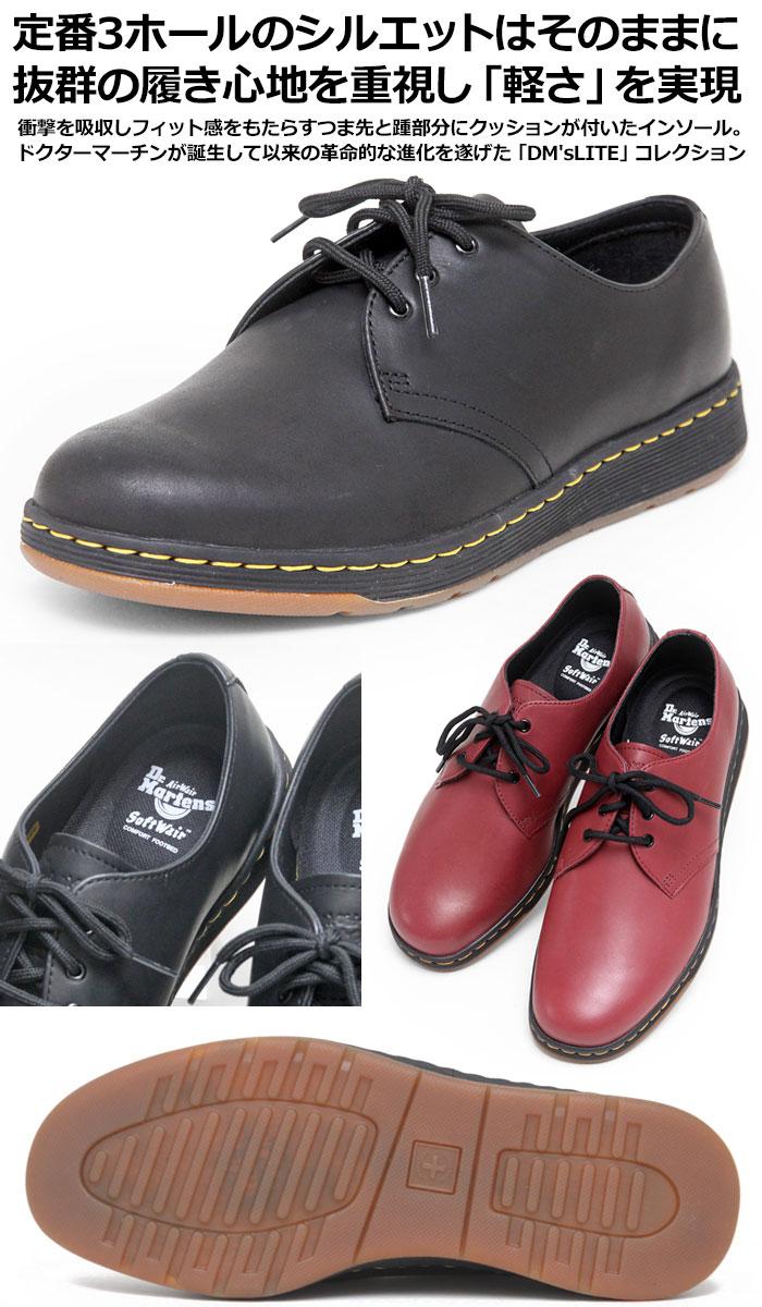 ●クーポンで最大500円OFFドクターマーチン 3ホールシューズ キャベンディッシュ ポストマンシューズ[全2色]Dr.Martens CAVENDICH 3 EYE SHOE メンズ レディース【靴】_11709F(ripe)