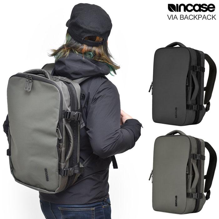 【正規取扱店】インケース リュック VIA バックパック[全2色]Incase VIA BACKPACK メンズ レディース【鞄】 1712ripe bzbg