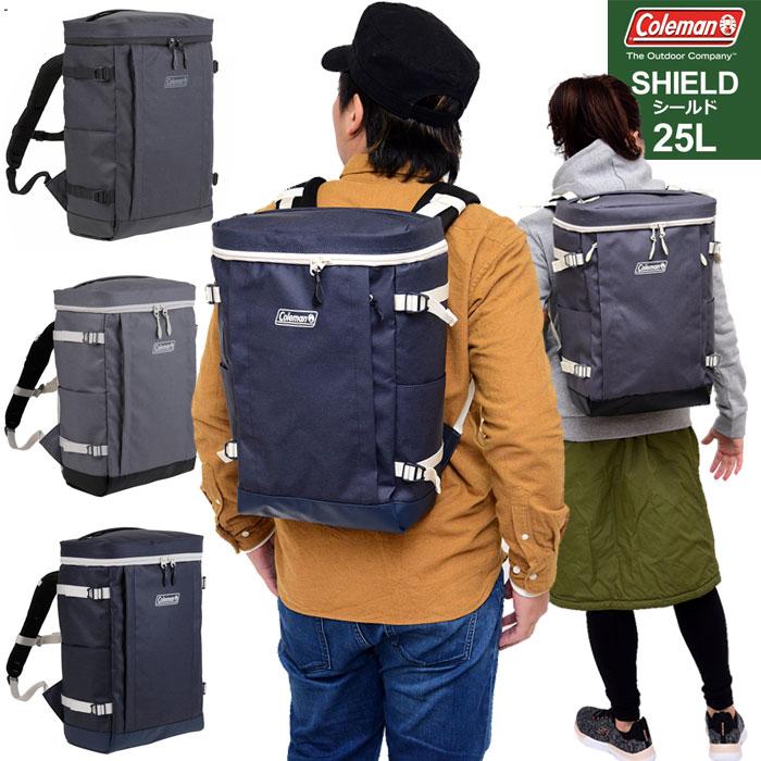【正規取扱店】コールマン スクエアリュック シールド25(25L)[全3色]Coleman SHIELD25 メンズ レディース【鞄】 11802E(ripe)