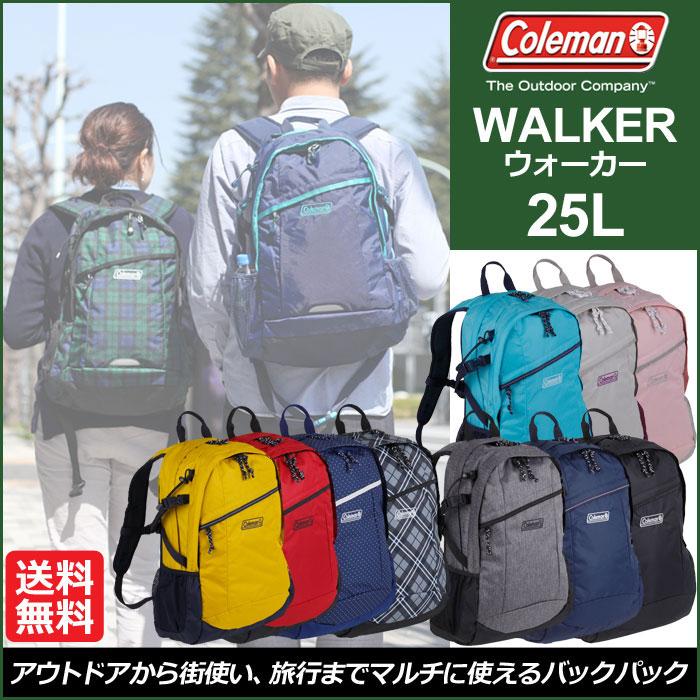 All 10 colors Coleman WALKER25 Coleman Walker 25 (backpack) Unisex (men and women combined) _ 11203E(ripe)