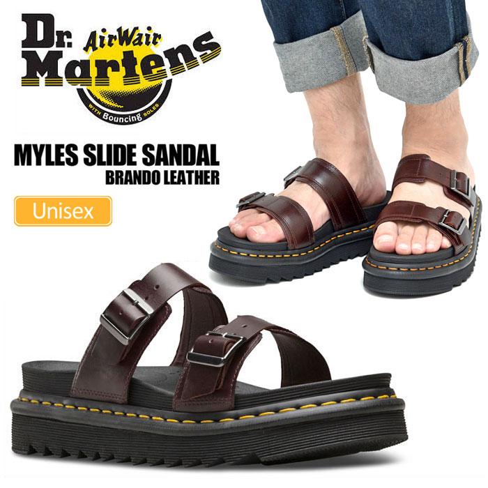 ドクターマーチン サンダル マイルス[CHARRO](23523211)Dr.Martens MYLES SLIDE SANDALメンズ レディース【靴】_sdl_1803ripe