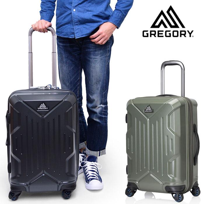 \最大5%OFF★月末月初は会員クーポン使えます/グレゴリー スーツケース クアドロハードケースローラー22インチ(45L)[全2色]【新ロゴ】GREGORY QUADRO HARDCASE ROLLER 22
