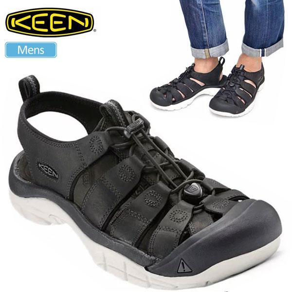 キーン サンダル ニューポート ATV[ブラック/スターホワイト](1016865)KEEN NEWPORT ATV メンズ【靴】_sdl_1807ripe