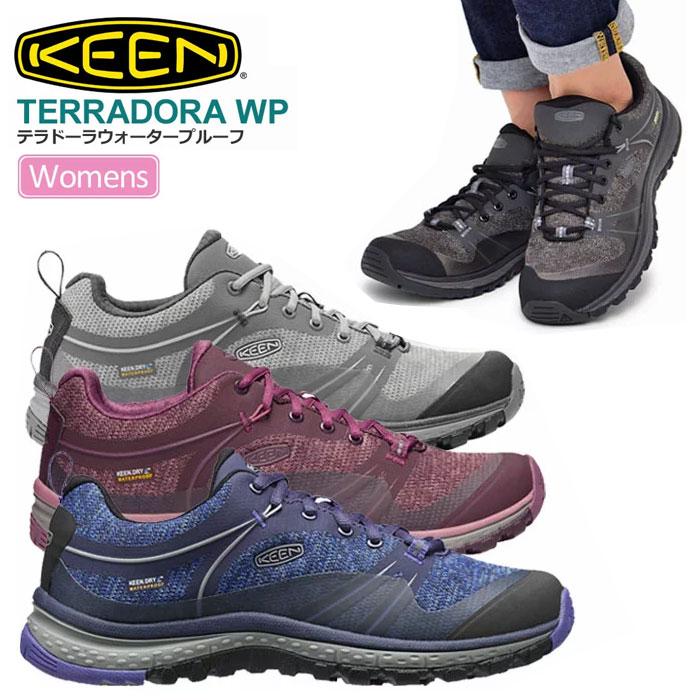 【SALE/20%OFF】キーン KEEN テラドーラ ウォータープルーフ[全4色]KEEN TERRADORA WP レディース【靴】_1809ripe【返品交換・ラッピング不可】