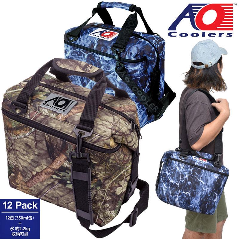 AOクーラー AO coolers 12パックキャンバスソフトクーラー(モッシーオーク)[全2色]メンズ レディース【鞄】_1908ripe