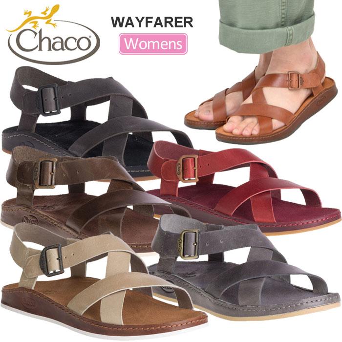 チャコ サンダル Chaco レディース ウェイヘラー[全6色](12365246/22-25cm)WS WAYFARER【靴】_sdl_1904ripe