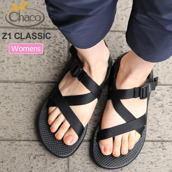 チャコ Chaco サンダル レディース ウィメンズ Z1クラシック ブラック 22-25cm WS Z1 CLASSIC 12365105 J105414 20SS sdl【靴】2005ripe