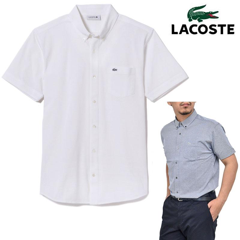 【正規取扱店】SALE 30%OFFラコステ ポロシャツ LACOSTE ビズポロ 半袖フルオープンシャツ 日本製[全4色](PH764EL)メンズ【服】 pol 1904ripe【返品交換・ラッピング不可】