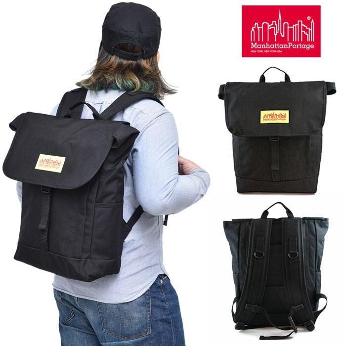 【正規取扱店】マンハッタンポーテージ Manhattan Portage ワシントンスクエアバックパック PVCウォータープルーフ[ブラック](MP1220LVL)Washington SQ Backpack PVC メンズ レディース【鞄】 bpk 1903ripe