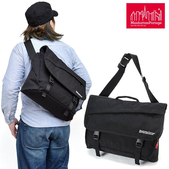 【正規取扱店】マンハッタンポーテージ Manhattan Portage ヴァンウィックメッセンジャーバッグ[ブラック](MP1691)Van Wyck Messenger Bag メンズ レディース【鞄】 1903ripe
