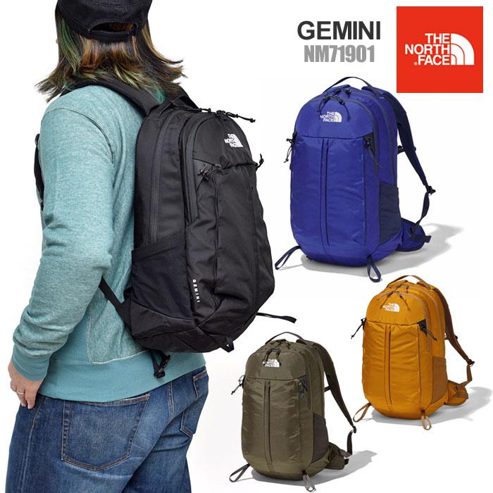 \今ならオリジナルペンケースが貰える/ノースフェイス リュック THE NORTH FACE ジェミニ バックパック(22L)[全4色](NM71901)GEMINI メンズ レディース【鞄】_bpk_1902ripe