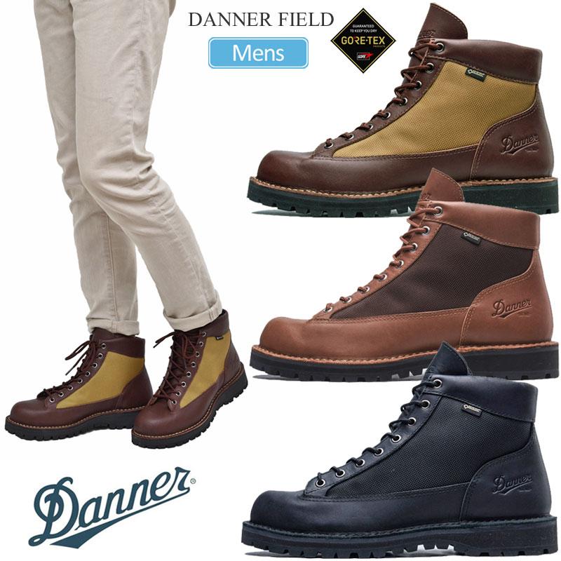ダナーブーツ ワークブーツ ゴアテックス ダナー DANNER ブーツ メンズ ダナーフィールドブラック 靴 20FW 新作 人気 タン 25.5-28cm ブラウン 2010ripe 人気ブランド FIELD D121003