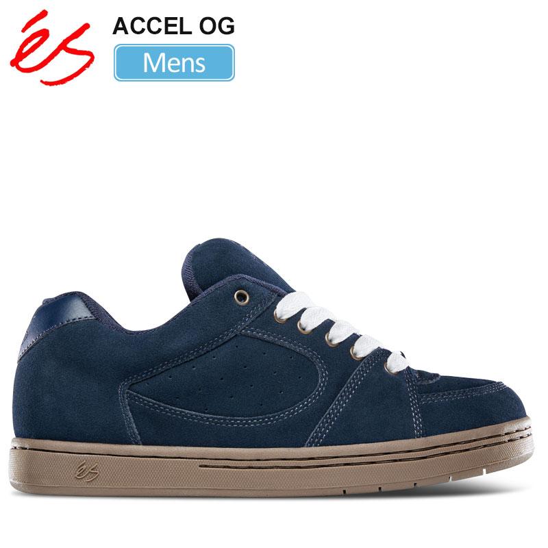 【正規取扱店】エス スニーカー 'es アクセルOG(ネイビー ガム)(25.5-28.5cm)ACCEL OG メンズ【靴】 snk 1911ripe