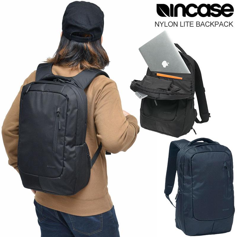 【正規取扱店】インケース リュック Incase ナイロンライトバックパック(全2色)NYLON LITE BACKPACK メンズ レディース【鞄】 bpk 1908ripe