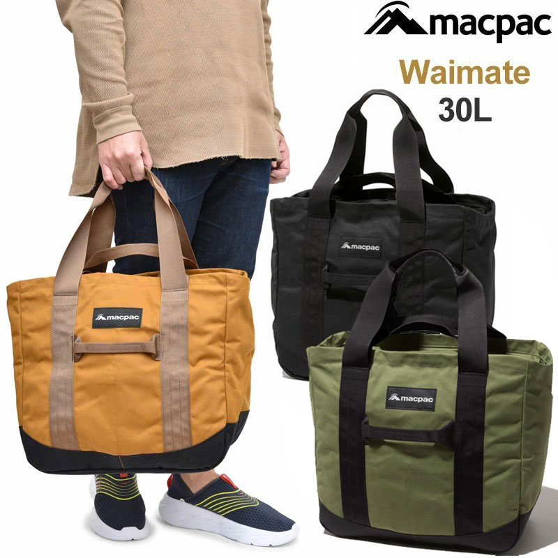 【正規取扱店】マックパック macpac トートバッグ メンズ レディース ワイマテ WAIMATE 30L MM81951【鞄】1911ripe